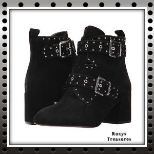 Rebecca Minkoff Logan Sassy Suede Ankle Booties